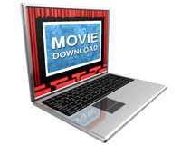 Internet movies Stock Photography