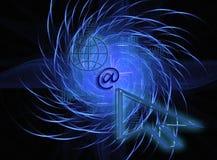 Internet mundial Foto de archivo libre de regalías