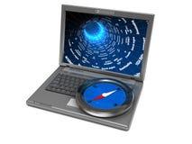 Internet navigation Stock Photo