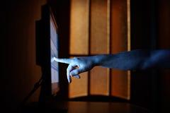 Internet-Neigung lizenzfreie stockfotos