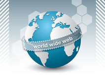 Internet network connecting people Royalty Free Stock Photography