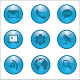 Internet Network connections icon. Vector illustration EPS10 Stock Image
