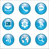 Internet Network connections icon. Vector illustration EPS10 Royalty Free Stock Photos