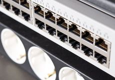Internet network equipment Stock Photos