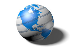 Internet, network, global, digital, connection Royalty Free Stock Photo