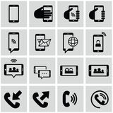 Internet  and network icons set Stock Photo