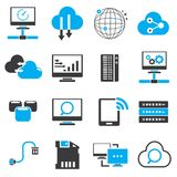 Internet, network icons Royalty Free Stock Image