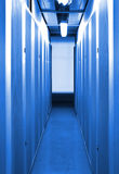 The internet network server room Royalty Free Stock Images
