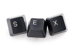 Internet o sesso di cyber Fotografia Stock