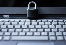 Internet- och datasäkerhet Royaltyfria Bilder