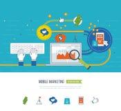 Internet- och mobilmarknadsföringsbegrepp card grund shopping för dof-fokushanden online mycket Investeringaffär royaltyfri illustrationer