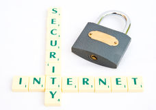internet ochrona Zdjęcia Stock