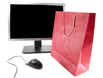Internet Online Shopping Royalty Free Stock Photography