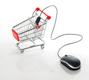 Internet online shopping concept Stock Image