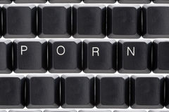 Internet Onlinecyberpornographie Stockfotografie