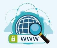 Internet-ontwerp Stock Fotografie
