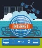 Internet-ontwerp Royalty-vrije Stock Fotografie