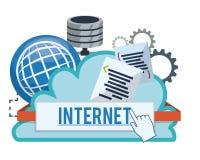 Internet-ontwerp Stock Afbeeldingen