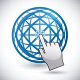 Internet-ontwerp Stock Foto's