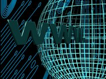 Internet op de wereld Royalty-vrije Stock Foto