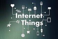 Internet overything pojęcie Zdjęcie Stock