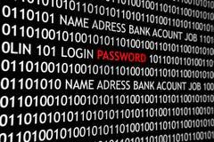 Internet Password stock photo