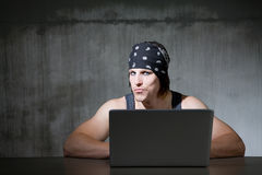 Internet Pirate Royalty Free Stock Image