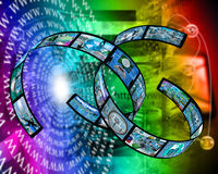 Internet-Plexus Lizenzfreies Stockfoto