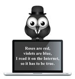 Internet poem Royalty Free Stock Photo