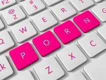 Internet porn Stock Photos