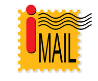 Internet-Post stock abbildung