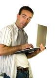 Internet-Privatleben Lizenzfreie Stockbilder