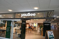 INTERNET PROVIDER YOUSEE Immagine Stock