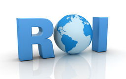 Internet ROI Stock Images