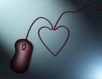 Internet Romance Royalty Free Stock Photography