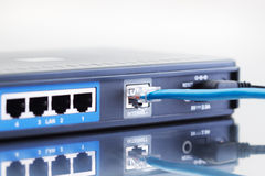 Internet router Stock Photography