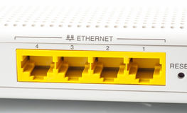 Internet router Royalty Free Stock Photo