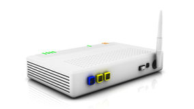 Internet router Royalty Free Stock Image