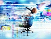 Internet rápido Foto de Stock