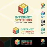 Internet rzecz logotyp ilustracji
