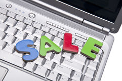 Internet Sale Concpet Stock Image