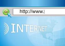 Internet schließen an Lizenzfreie Stockfotos