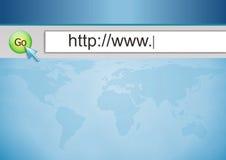 Internet schließen an Stockfoto