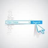 Internet search concept Royalty Free Stock Photos