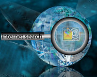Internet search Royalty Free Stock Images