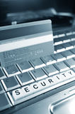 Internet security Stock Image