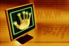 Internet security Royalty Free Stock Images