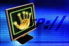 Internet security Stock Photos