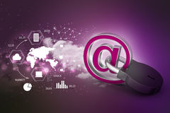 Internet security concept Stock Images