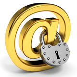Internet security concept. Royalty Free Stock Images